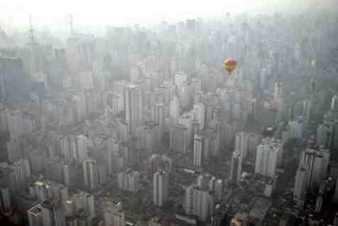 Voo sobre São Paulo
