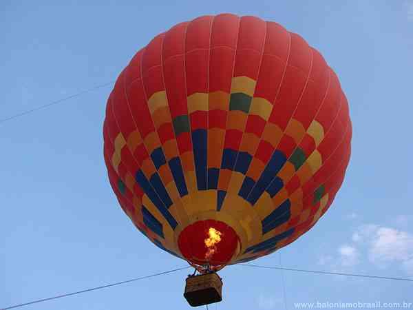 voo de balão projeto escolas